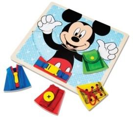 Melissa & Doug Mickey Mouse Wooden Basic Skills Board