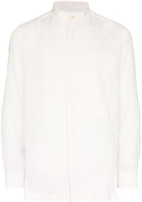 Issey Miyake Mandarin Collar Shirt