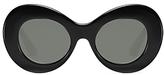 Elizabeth and James Howe Round Sunglasses, 48mm