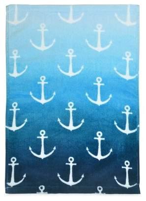 Destinations Ombre Anchor Towel Navy