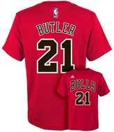 adidas Boys 8-20 Chicago Bulls Jimmy Butler Player Tee
