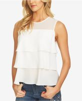 CeCe Tiered Ruffled Top