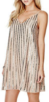 GUESS Beaded Trapeze Dress