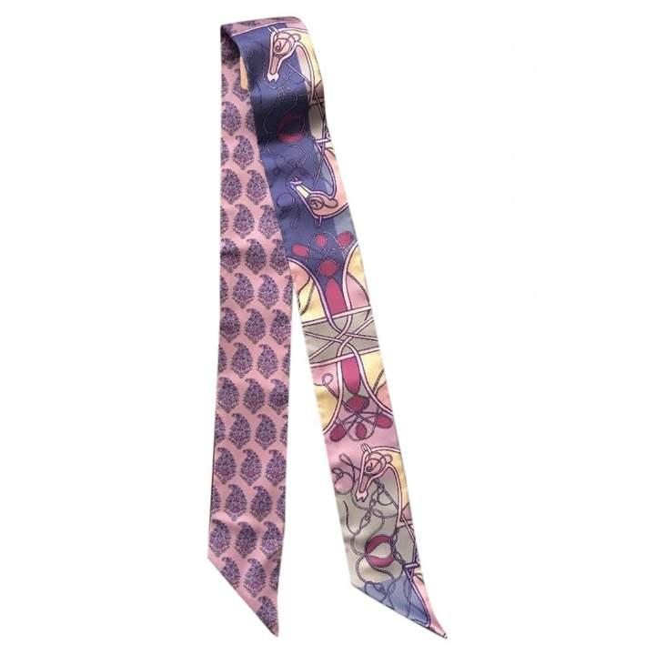 Hermes Twilly silk neckerchief