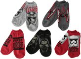 Star Wars Disney Big Boys' Episode 7 5 Pack No Show Socks