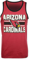'47 Men's Arizona Cardinals Team Stripe Crosstown Tank