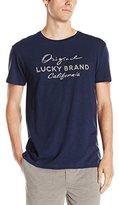 Lucky Brand Men's Original Short-Sleeve Crew-Neck Sleep Shirt