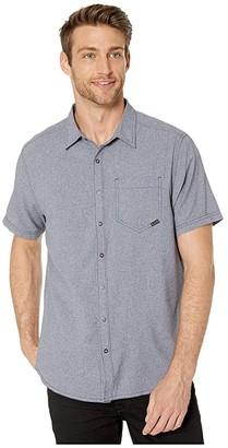 5.11 Tactical Evolution Short Sleeve Shirt (Mystic Heather) Men's Clothing