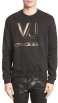 Versace Men's Foil Logo Sweatshirt