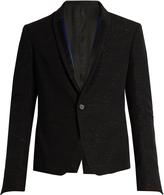 Haider Ackermann Curare single-breasted wool dinner jacket