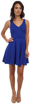 ABS by Allen Schwartz Deep V Fit and Flare Dress