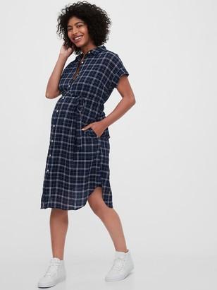 Gap Maternity Midi Shirtdress