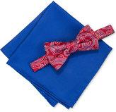 Countess Mara Men's Martin Paisley Pre-Tied Bow Tie & Pocket Square Set