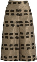Vivienne Westwood Ream brushstroke-brocade culottes