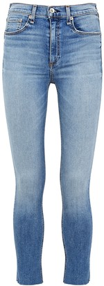 Rag & Bone Ellerly Light Blue Skinny Jeans