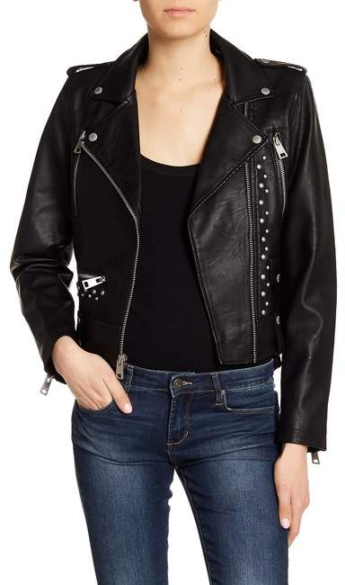 Levi's Studded Faux Leather Jacket
