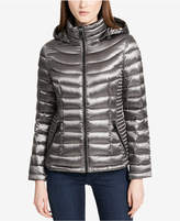 Calvin Klein Petite Packable Puffer Coat, Created for Macy's