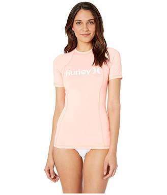 Hurley One and Only Short Sleeve Rashguard