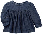 Joe Fresh Chambray Top (Baby Girls 3-12M)
