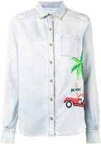 Mira Mikati embroidered denim shirt - women - Cotton - 36