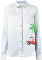 Mira Mikati embroidered denim shirt - women - Cotton - 38