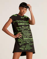 Misbhv Black Dance Short Dress