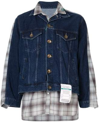 Puma Maison Yasuhiro layered shirt jacket
