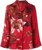 F.R.S For Restless Sleepers - floral print pyjama blouse - women - Silk - S