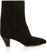 Etoile Isabel Marant Dyna cone-heel suede ankle boots