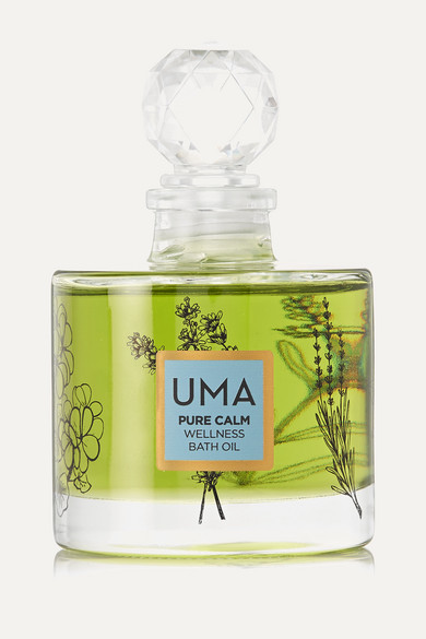 UMA OILS + Net Sustain Pure Calm Wellness Bath Oil, 100ml - one size