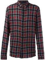 Haider Ackermann plaid shirt