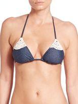 L-Space LSpace Lucy Triangle Bikini Top