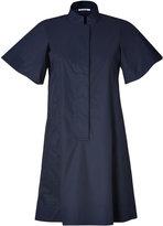Jil Sander Navy Cotton Shirtdress