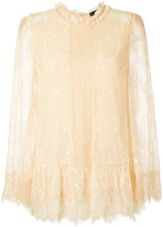 Talie Nk - lace blouse - women - Polyester/Viscose - 36