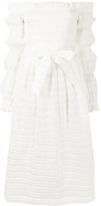 Rebecca Vallance Jame off-shoulder dress