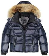 SAM. Boys' Fur-Trimmed Puffer Jacket - Little Kid