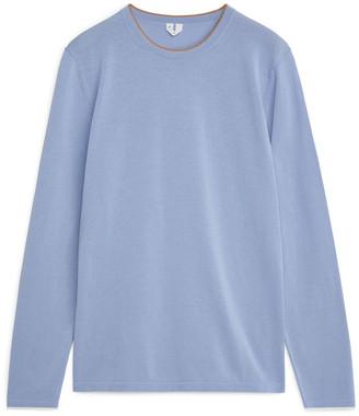 Arket Cotton Nylon Fine-Knit Jumper