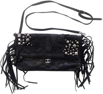 Just Cavalli Black Leather Handbags