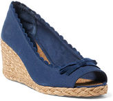 Ralph Lauren Chaning Canvas Espadrille