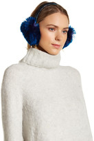 Dena Faux Fur & Leather Earmuff