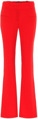Altuzarra Serge high-rise flared crApe pants