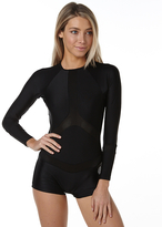 Rip Curl Ls Boyleg Uv Surf Rash Suit Black