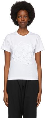 COMME DES GARÇONS GIRL White Bow T-Shirt