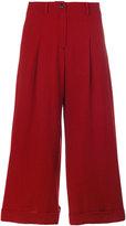 Societe Anonyme Dietrich cropped trousers - women - Spandex/Elastane/Wool - 40