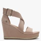 UGG Calla Arroyo Textile Cross Strap Wedge Sandals