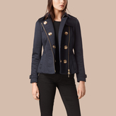 Burberry Off-centre Fastening Quilted Jacket