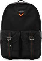 Diesel Black F-Cross Backpack