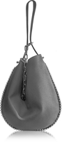 Alexander Wang Roxy Grey Leather Hobo Bag