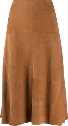 Arma High-Waisted Midi Skirt