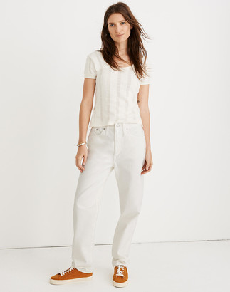 Madewell The Dadjean in Tile White